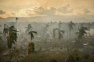 Hurricane Matthew strikes Haiti