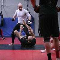 Jackson's/Winkeljohn's: January 16, 2012 Greg Jackson's grappling class at Jackson's/Winkeljohn's in Albuquerque, NM