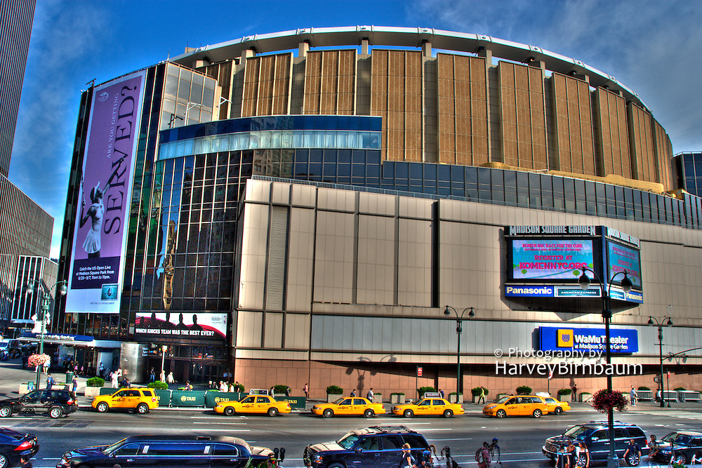 Madison square garden new york city photography by harvey birnbaum for Address of madison square garden