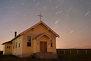 A Mission Valley church under the stars, Western Montana