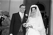 1964 - Tierney - Roche wedding, Booterstown