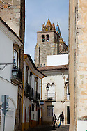 Evora, the capital city of Alentejo province in Portugal.