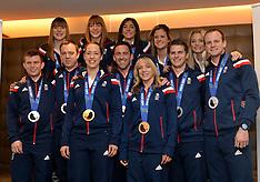 FEB 24 2014 Team GB Return from Sochi 2014 Olympic Wnter Games