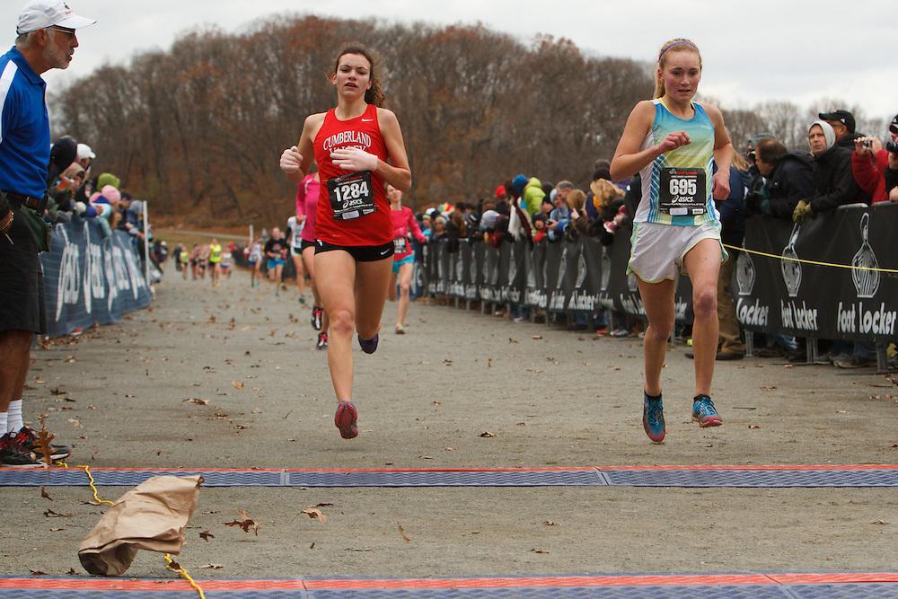Foot Locker Cross Country Northeast Regional Championship race, Carol Strock, PA, Paige Stoner, PA