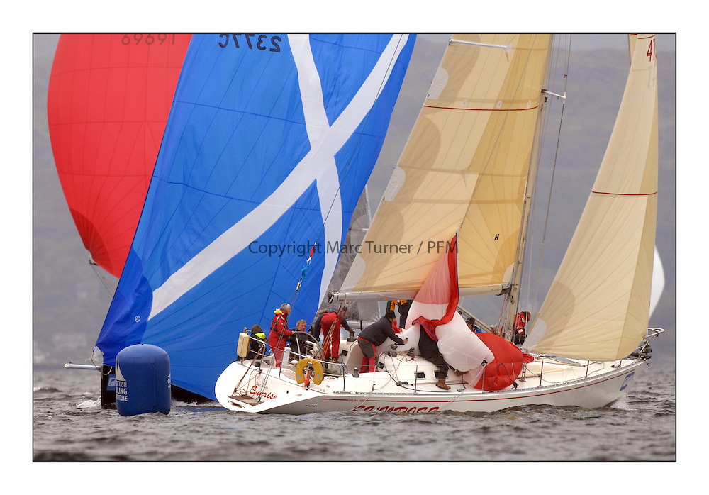 Brewin Dolphin Scottish Series 2011, Tarbert Loch Fyne - Yachting - Day 1 of the 4 day series..GBRSunrise - Scott Chambers..