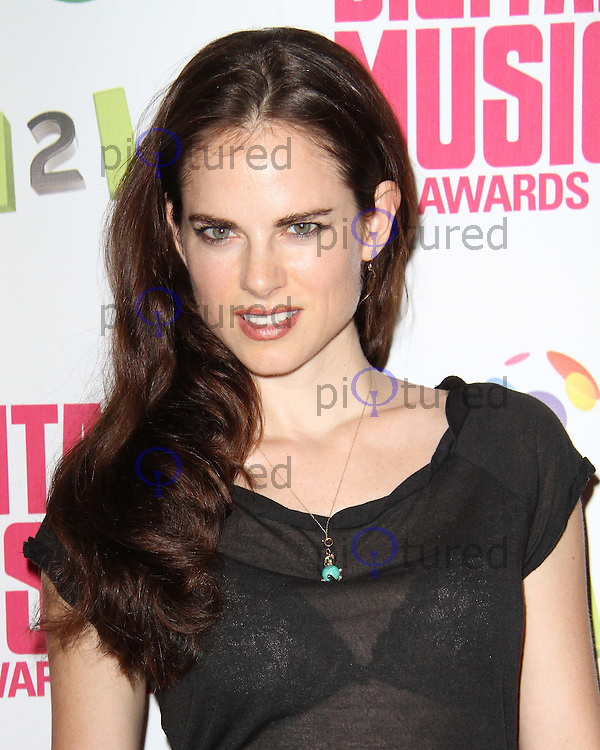 Amy Bailey BT Digital Music Awards | Celebrity and red carpet pictures