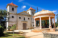 Church in Guira de Melena, Artemisa Province, Cuba.
