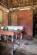 House interior in Vista Alegre near Unas, Holguin, Cuba.