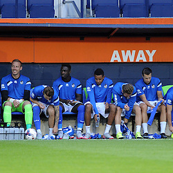Bench - Mandatory byline: Neil Brookman/JMP - 07966386802 - 18/08/2015 - FOOTBALL - Kenilworth Road -Luton,England - Luton Town v Bristol Rovers - Sky Bet League Two