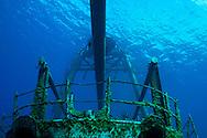 Aft Boat Deck, USS Kittiwake, Grand Cayman