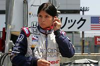 Danica Patrick at the Twin Ring Motegi, Japan Indy 300, April 30, 2005
