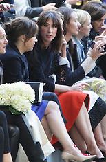 SEP 16 2013 Samantha Cameron at London Fashion Week