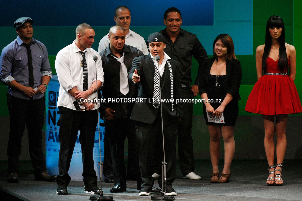 Vodafone New Zealand Music Awards. Vector Arena, Auckland City, New Zealand. 8 October 2009. Photo: PHOTOSPORT