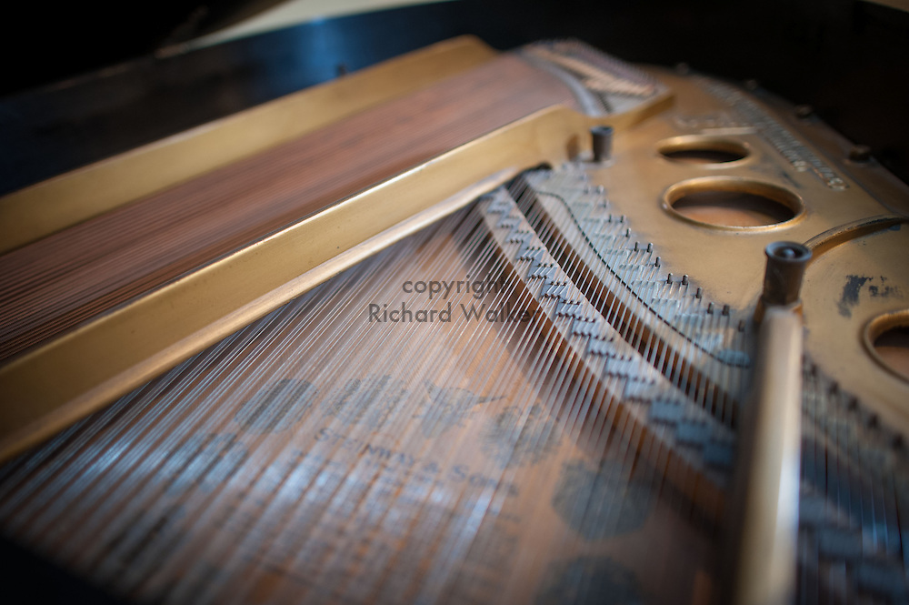 2015 August 15 - Inside view of a piano, Seattle, WA, USA. By Richard Walker