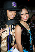 Teyana Taylor and Tiffany Evans at R & B Live featuring Vocalist sensations Peter Hadar and Estelle at Spotlight Live on May 20, 2008 in New York City