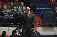 "Ole Miss head basketball coach Andy Kennedy vs. SMU at the C.M. ""Tad"" Smith Coliseum in Oxford, Miss. on Tuesday, January 3, 2012. Ole Miss won 50-48."