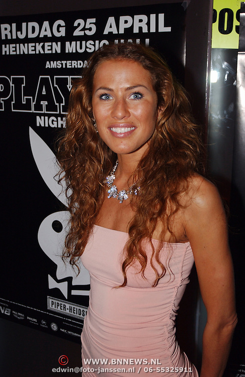 Playboyfeest 2003, Jorinde Moll