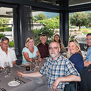 Restaurant dining in Meiringen, Switzerland, the Alps, Europe. For licensing options, please inquire.
