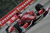 Scott Dixon, Cheverolet Indy Dual in Detroit, Belle Isle, Detroit, MI USA 06/01/13