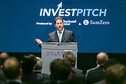 InvestPitch produced by Institutional Investor and SumZero. The event was held on November 3, 2014 at Bloomberg offices. (Photo: Jeffrey Holmes) Institutional Investor - ZeroSum present InvestPitch: Mike Winston, Sutton View Capital at Bloomberg Offices in New York.