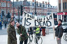 Margaret Thatcher's death