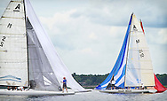 2014 A Scow National Championship on Lake Minnetonka,Sunday, June 22, 2014