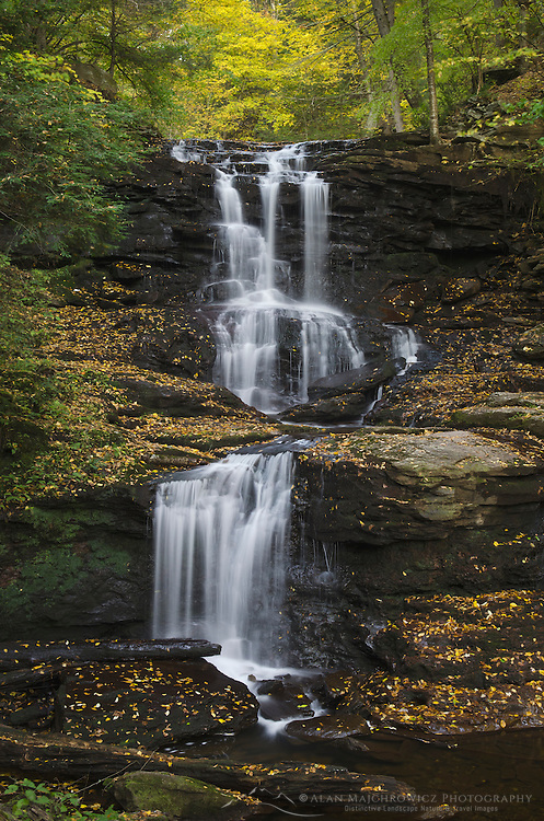 Tuscarora Falls, Ricketts Glen State Park, Pennsylvania