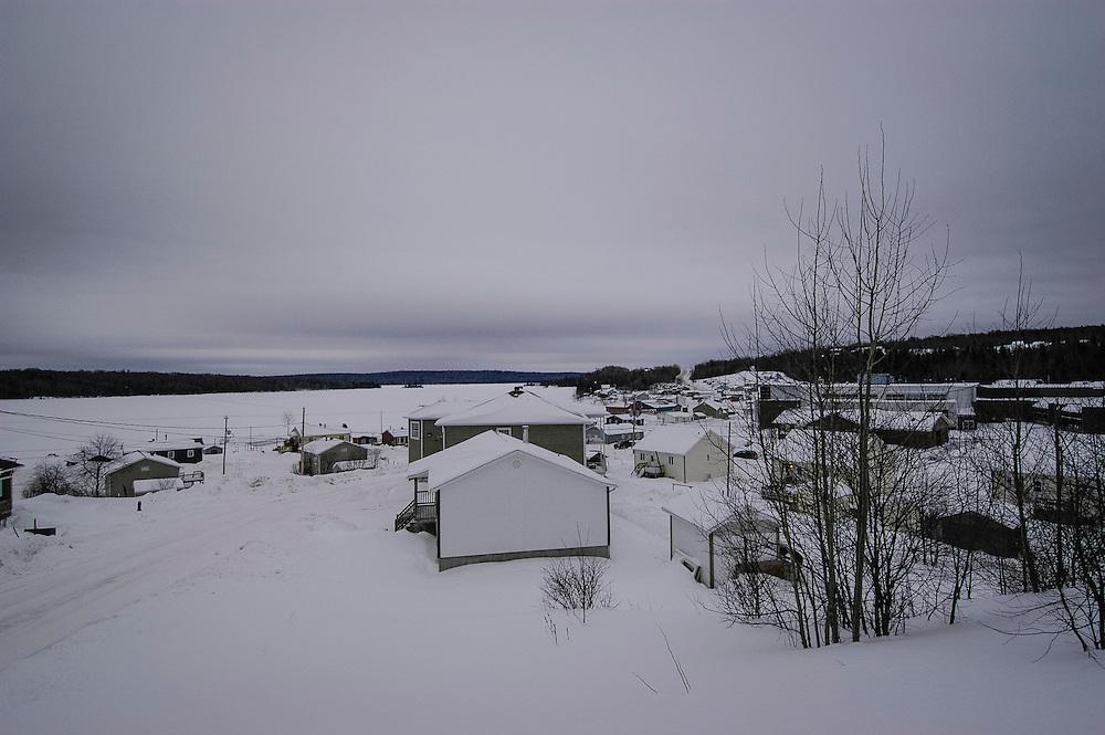 Réserve de Manawan, communauté Atikametw, Québec.