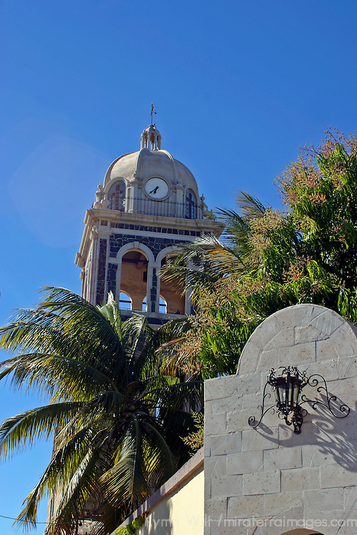 Americas, Mexico, Baja California Sur, Loreto. The Jesuit Mission of Our Lady of Loreto, the oldest and first of the California missions, established 1697.