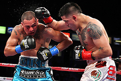 "October 13, 2012; Carson, CA; USA; Images from the HBO Boxing after Dark bout between Brandon ""Bam Bam"" Rios and Mike Alvarado at the Home Depot Center in Carson, CA. **HBO USAGE ONLY**"