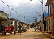 Street in Moron, Ciego de Avila, Cuba.