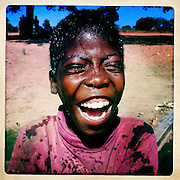 The laughing boy, The Mozambique Diary, Maua District, Mozambique