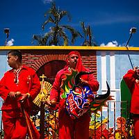 DANCING DEVILS OF YARE / LOS DIABLOS DE YARE<br /> Photography by Aaron Sosa<br /> Yare, Miranda State - Venezuela 2009.<br /> (Copyright &copy; Aaron Sosa)
