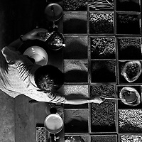 A traditional dried spiece dealer, Chiang Mai, Thailand