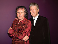 """Donovan and David Lynch 2007..in concert for the David Lynch Foundation for Consciousness-Based Education and the David Lynch book """"Catching The Big Fish: Meditation, Consciousness and Creativity"""" at the Kodak Theatre in Hollywood, January 21st 2007...Photo by Chris Walter/Photofeatures"""