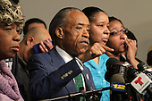 Rev. Sharpton holds Press conference on Eric Garner Grand Jury