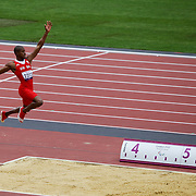 Luis Felipe Gutierrez FROM CUBA WINNER OF THE LONG JUMP AT THE LONDON 2012 PARALYMPIC GAMES