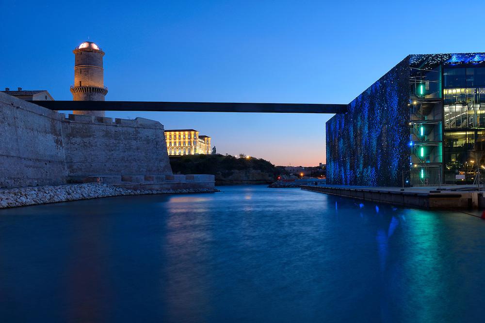 MUCEM,THE MUSEUM OF EUROPEAN AND MEDITERRANEAN CIVILISATIONS,Marseille,Provence-Alpes-Côte d'Azur,Provence France, Europe