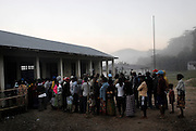 Voters turn up early at the polling station in the Ermera district village of Fatuquero to cast their vote on Timor-Lestes June 30 Parliamentary elections..Timor-Leste