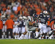 Ole Miss' Donte Moncrief (12) makes a first down catch against Auburn at Jordan-Hare Stadium in Auburn, Ala. on Saturday, October 29, 2011. .