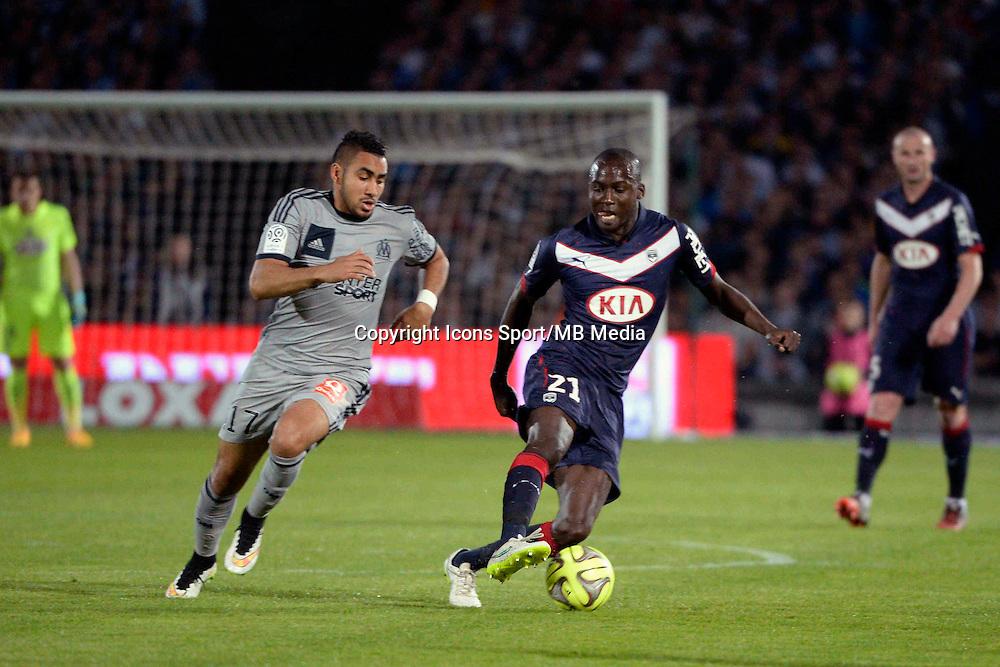 Cedric YAMBERE - 12.04.2015 - Bordeaux / Marseille - 32eme journee de Ligue 1 <br />Photo : Caroline Blumberg / Icon Sport