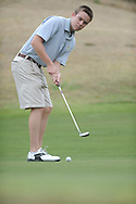 Oxford High's Eddie Deese plays golf during a tournament at Country Club of Oxford, in Oxford, Miss. on Tuesday, April 9, 2013.