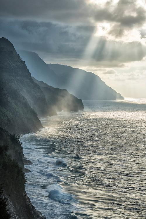 USA, Hawaii, Isalnd, Kauai,Hanalei, Na Pali Coast