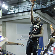 Erie BayHawks Forward Kadeem Batts (31) drives towards the basket in the first half of a NBA D-league regular season basketball game between the Delaware 87ers and the Erie BayHawk (Orlando magic) Friday, Jan. 02, 2015 at The Bob Carpenter Sports Convocation Center in Newark, DEL