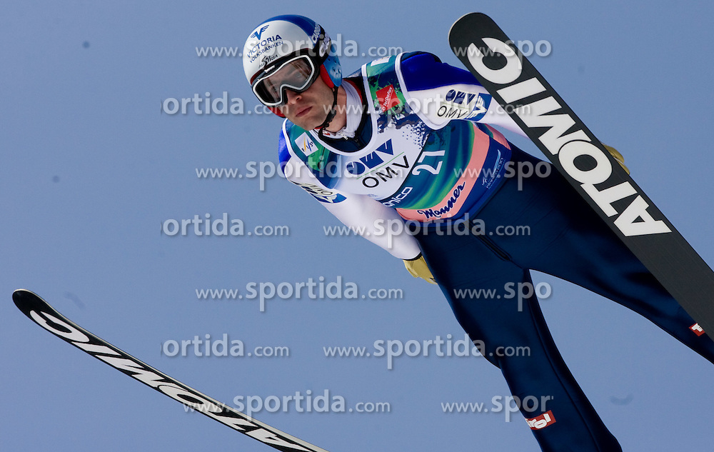 LOITZL Wolfgang, WSC Bad Mitterndorf, AUT  competes during Flying Hill Individual Third Round at 3rd day of FIS Ski Flying World Championships Planica 2010, on March 20, 2010, Planica, Slovenia.  (Photo by Vid Ponikvar / Sportida)