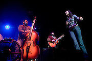 Country music duo Joey and Rory perform as part of Zac Brown's Breaking Southern Ground Tour