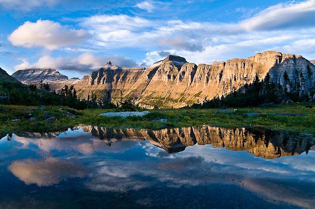 Garden Wall Bishops Cap Highline Trail Glacier National Park Tony Bynum Photography