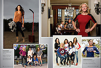 2012:  The Real Housewives of the National Hockey League.  Published in Fully Loaded (Canada) and The Hockey News (USA)