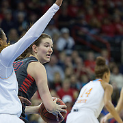 Photos from WBB Sweet 16 loss to Tennessee.