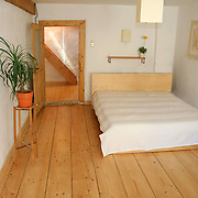 wooden floor bedroom in house